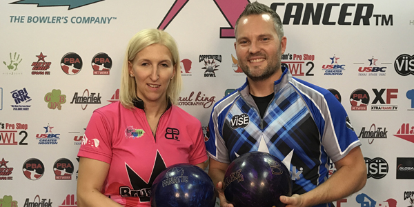 Sterner, Poppler Win PBA-PWBA Xtra Frame Striking Against Breast Cancer Mixed Doubles Title