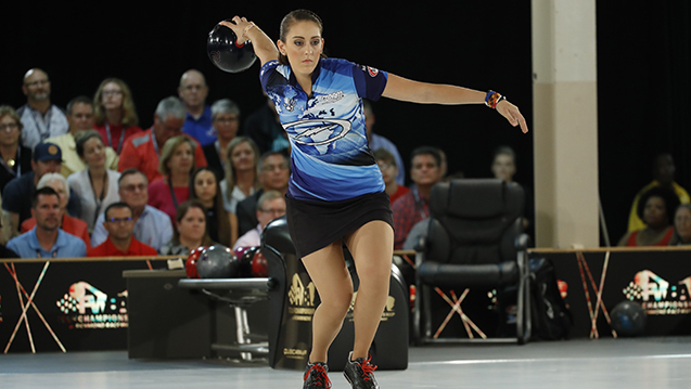 McEwan shakes off slow start, set to defend title at PWBA Fountain Valley Open