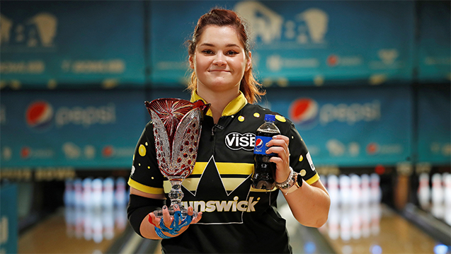Kovalova rolls 300 game to win 2019 Pepsi PWBA Louisville Open