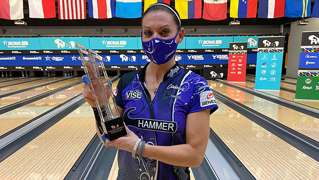 O'Keefe rallies to win 2021 PWBA Bowlers Journal Classic